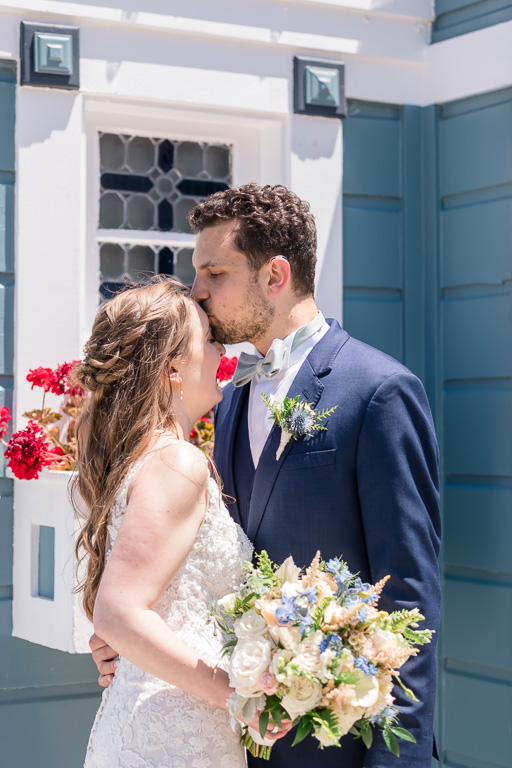 getting married in sunny Sausalito