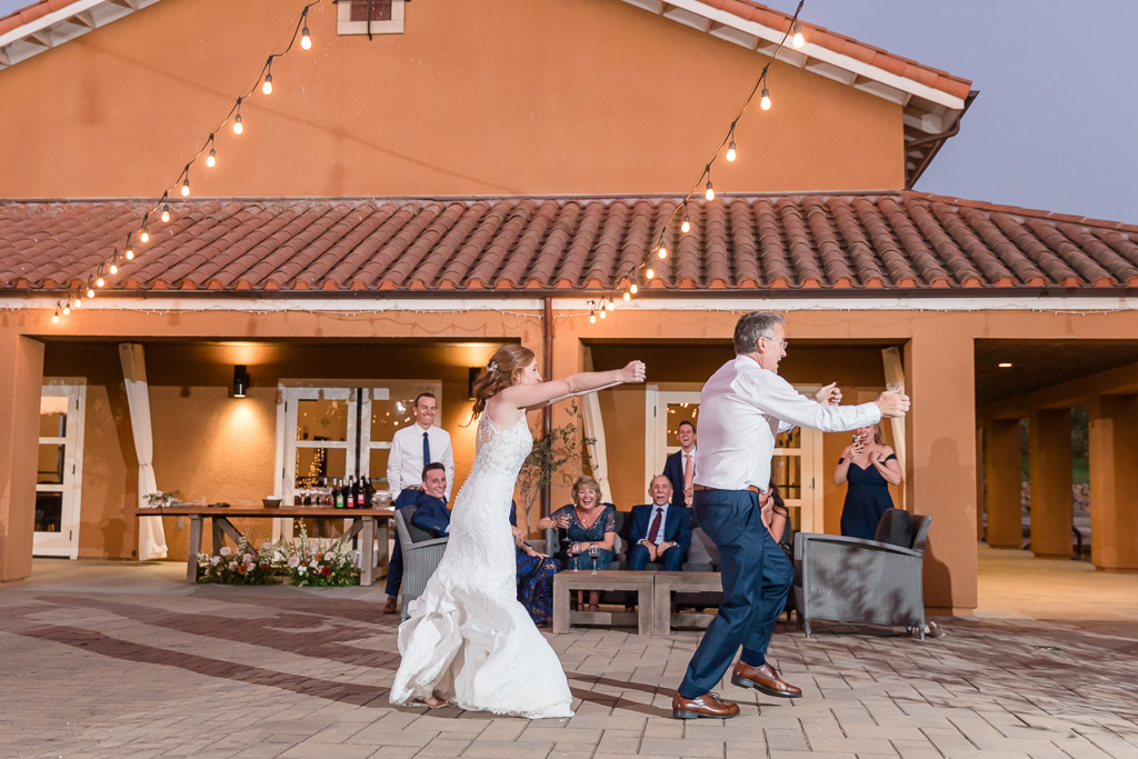 surprise choreographed father-daughter dance