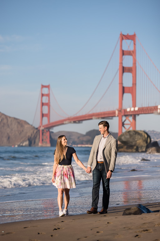 San Francisco Marshall's Beach engagement photos