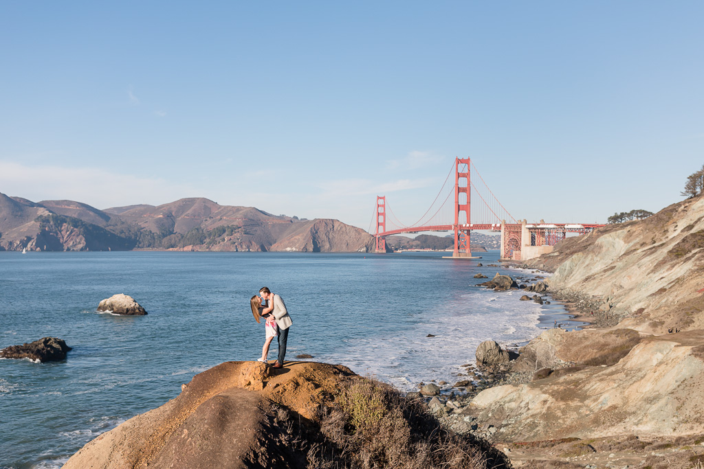 Golden Gate Bridge small people photo