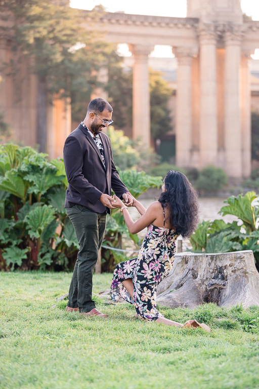 reverse marriage proposal