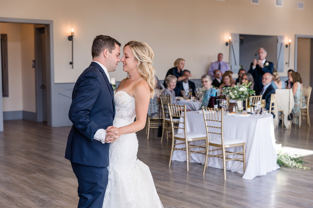 first dance at Oceano Hotel and Spa