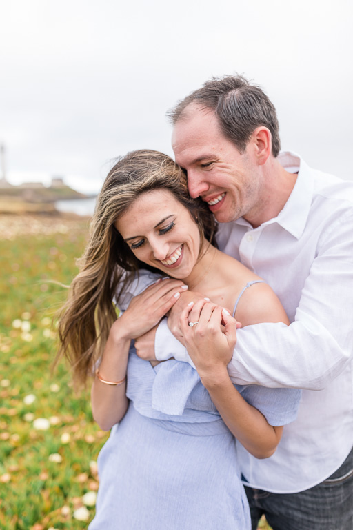 Pigeon Point Light Station State Historic Park engagement photo