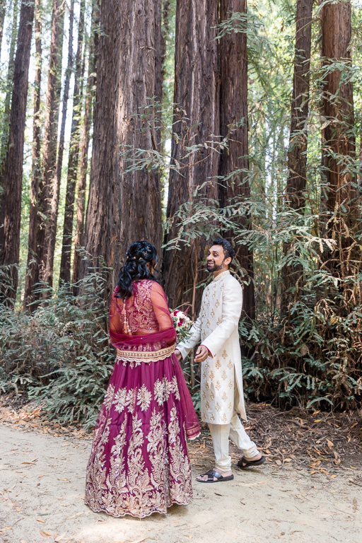 first look in the redwoods at Old Mill Park