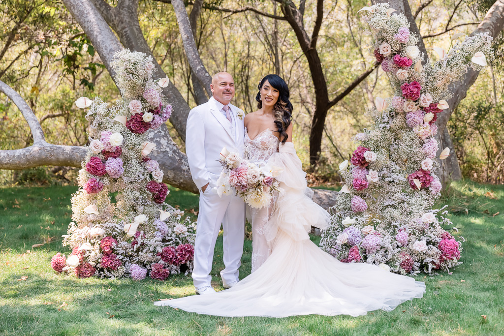 luxury wedding comes out of a fairy tale book