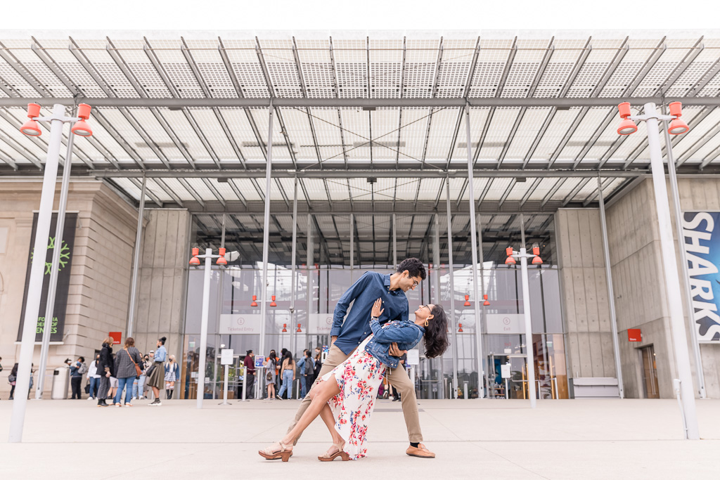California Academy of Sciences engagement photo